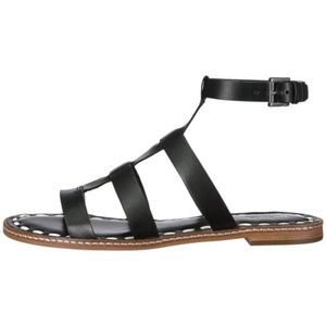 Michael Kors Fallon Gladiator Sandal in Black/opt